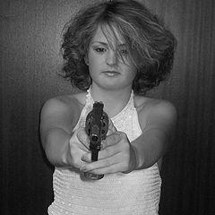 """фото """"Ты же знаешь, что я могу выстрелить!!!?"""""""