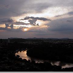 "photo ""The first Sundown of 2005"""
