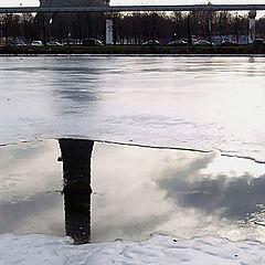 """фото """"Ice Portal (Из серии """"Останкинский январь"""")"""""""