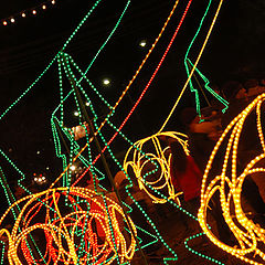 "фото ""Christmas lights"""