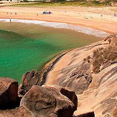 """фото """"Скалы, море и песок..."""""""