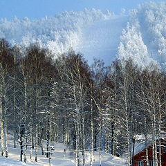 """photo """"Adzhigardak in the winter"""""""