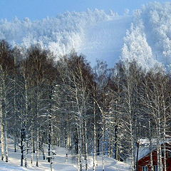 "фото ""Аджигардак зимой"""