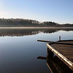"""фото """"morning at lake"""""""