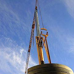 """photo """"The crane"""""""