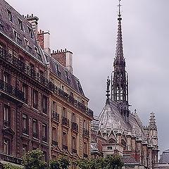 """photo """"Paris, Сite"""""""