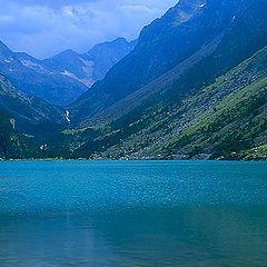 """фото """"Intimate landscape (18) Lac de gaube #2"""""""