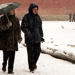 """фото """"Снегопад"""""""