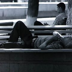 "photo ""The Baku siesta"""