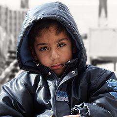 """photo """"Portrait of one boy"""""""