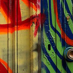 "фото ""Front door abstraction"""