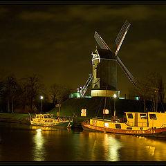 "photo ""Mill (Brugge)"""