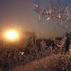 "фото ""мороз рисует на окне..."""