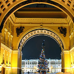 "photo ""New Year in SPb... was lately"""