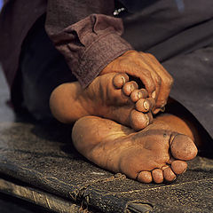 "фото ""Fisherman`s sole / Душа (ступня) рыбака"""