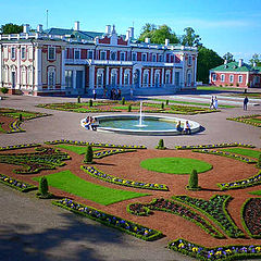 "photo ""Here such palace at us and it орестности (Kadriorg"""