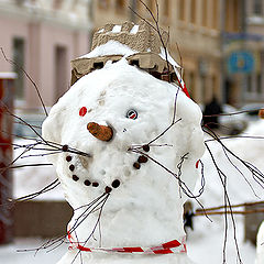 "photo ""Very Positive Snowman"""