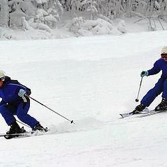"""фото """"Горные лыжи"""""""