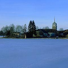 "фото ""Intimate landscape (26) Lac de l`Abbaye #2"""