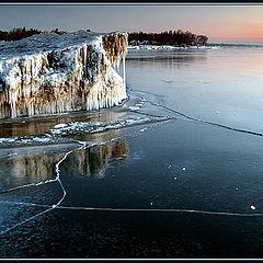 "фото ""Замерзшее озеро"""