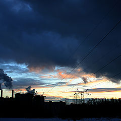 "photo ""Industrial Dusk"""