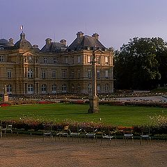 """фото """"Intimate landscape (28) Luxembourg gardens"""""""