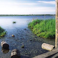 "photo ""Morning on Onega river"""
