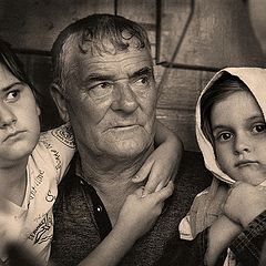 "фото ""В гостях у деда."""
