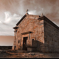 "фото ""Chapel in the mountain"""