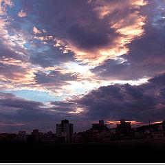 "photo ""Guaruja Sunset"""