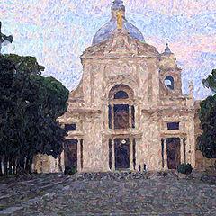 "фото ""A Church in Italy"""