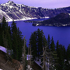 "photo ""Blue Crater Lake"""
