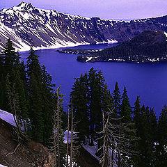 """фото """"Blue Crater Lake"""""""