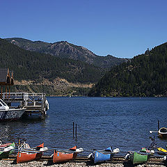 "фото ""Lacar Lake"""
