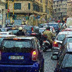 """фото """"Rome Traffic"""""""