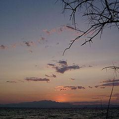 "photo ""Sunset Greece"""