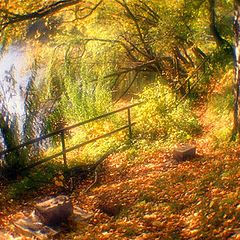 "photo ""Back streets of autumn"""