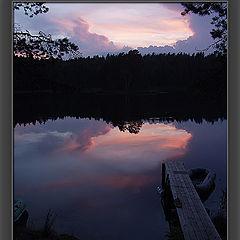 """фото """"ночь на озере"""""""