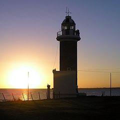 """photo """"Faro de Punta Carretas"""""""