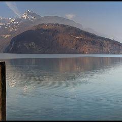 """фото """"Утреннее озеро"""""""