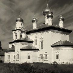 "photo ""Kargopol, church of Christmas of the Virgin"""
