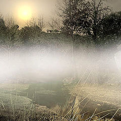 "photo ""Fog in the River"""