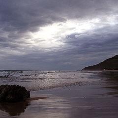 """photo """"coast in the morning II"""""""