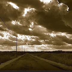 """фото """"Long road"""""""