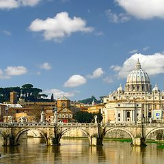 """photo """"ordinary card about Rome"""""""