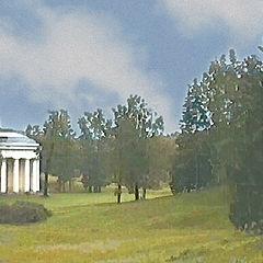 """photo """"Pavlovsk Palace and Park"""""""