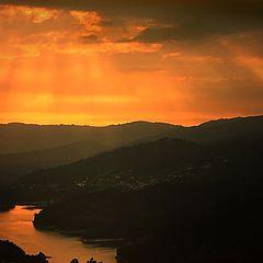 "photo ""Lst rays of light"""