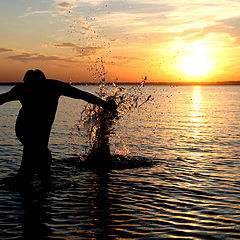 "фото ""Water Man"""
