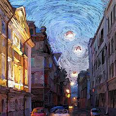 """photo """"Narrow Street"""""""