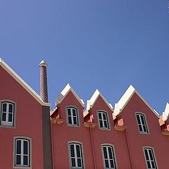 """photo """"Pink houses"""""""